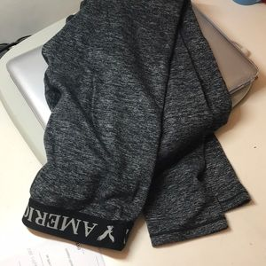 grey american eagle leggings